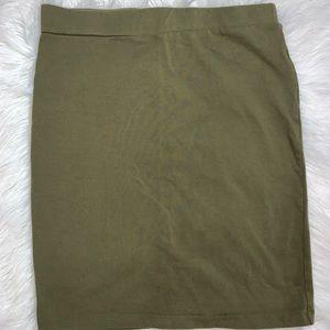 Olive green skirt 💚